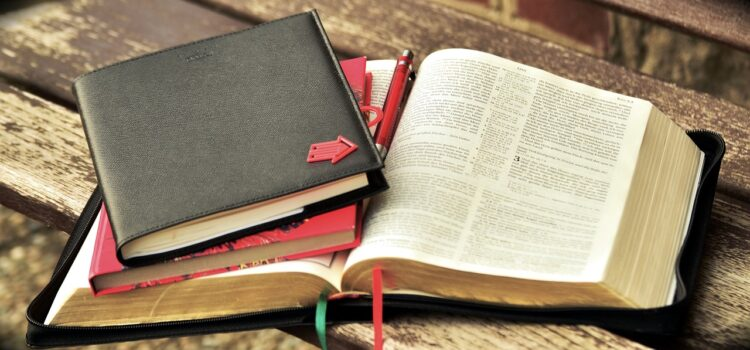 Bible, devotional and journal
